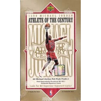 1999/00 Upper Deck Michael Jordan Athlete of the Century Basketball Hobby Box