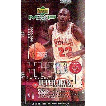 1999/00 Upper Deck MVP Basketball Hobby Box