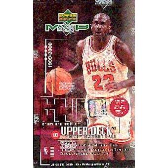 1999/00 Upper Deck MVP Basketball Hobby Box