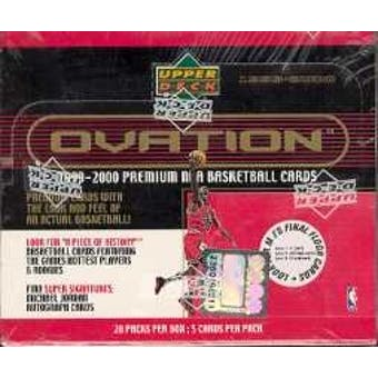 1999/00 Upper Deck Ovation Basketball Hobby Box