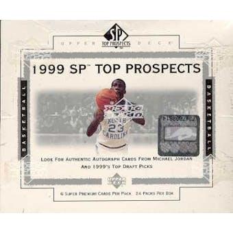1999/00 Upper Deck SP Top Prospects Basketball Hobby Box