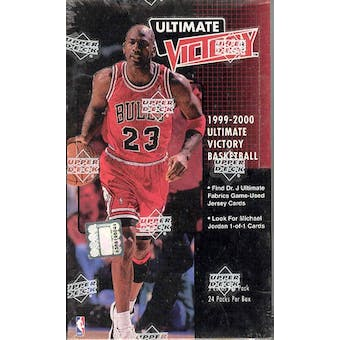 1999/00 Upper Deck Ultimate Victory Basketball Hobby Box