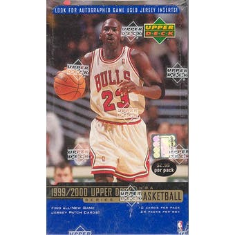 1999/00 Upper Deck Series 1 Basketball Prepriced Box