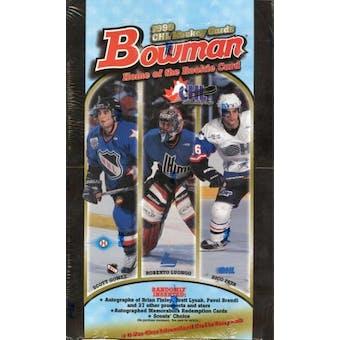 1999/00 Bowman CHL Hockey Hobby Box