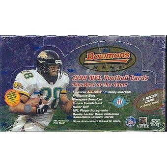 1999 Bowman's Best Football Hobby Box
