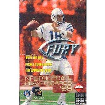 1999 Collector's Edge Fury Football Hobby Box