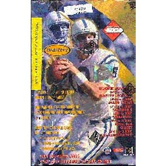1999 Collector's Edge Masters Football Hobby Box