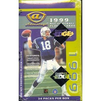 1999 Collector's Edge Advantage Hobby Football Box