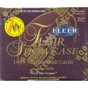 1999 Fleer Flair Showcase Football Hobby Box