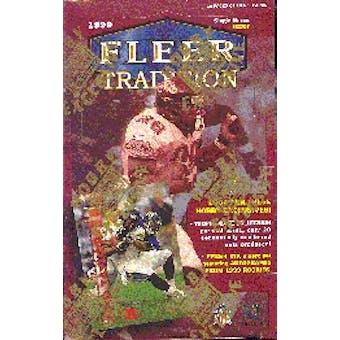 1999 Fleer Tradition Football Hobby Box (Reed Buy)