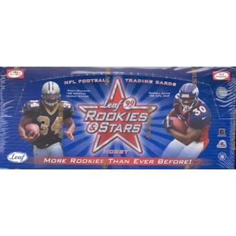 1999 Leaf Rookies & Stars Football Hobby Box