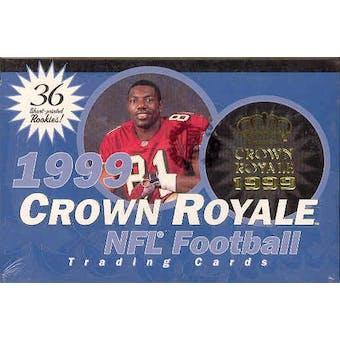 1999 Pacific Crown Royale Football Hobby Box