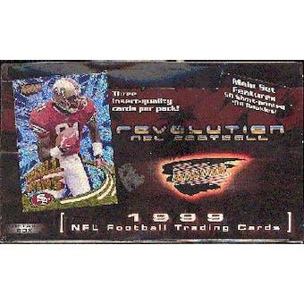 1999 Pacific Revolution Football Hobby Box