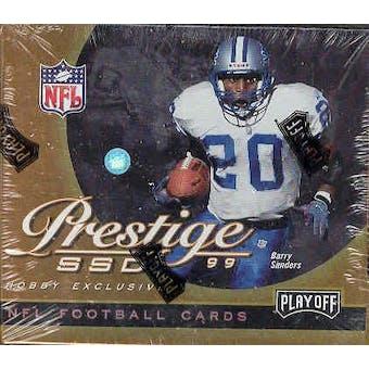 1999 Playoff Prestige SSD Football Hobby Box