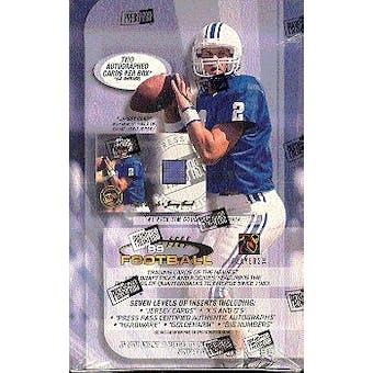 1999 Press Pass Football Hobby Box