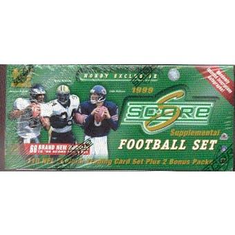 1999 Score Supplemental Football Factory Set (Box)