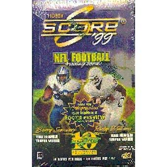 1999 Score Football Hobby Box