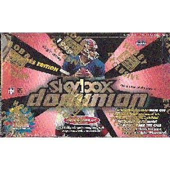 1999 Fleer Skybox Dominion Football Hobby Box