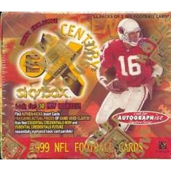 1999 Fleer Skybox E-X Century Football Hobby Box