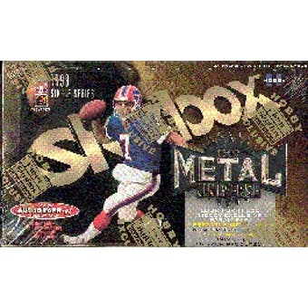 1999 Fleer Skybox Metal Universe Football Hobby Box