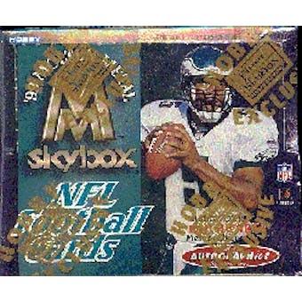 1999 Fleer Skybox Molten Metal Football Hobby Box
