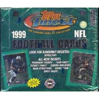 1999 Topps Finest Football Jumbo Box