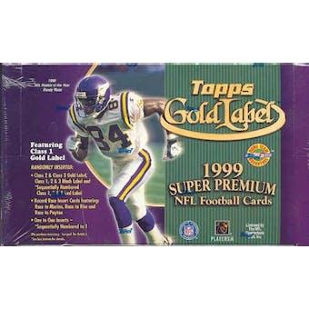 1999 Topps Gold Label Football Hobby Box