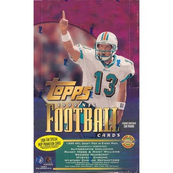 1999 Topps Football Jumbo Box