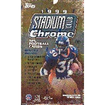 1999 Topps Stadium Club Chrome Football Hobby Box