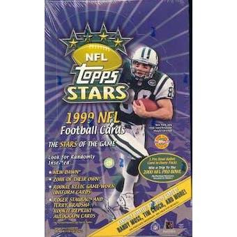 1999 Topps Stars Football Hobby Box