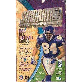 1999 Topps Stadium Club Football Hobby Box