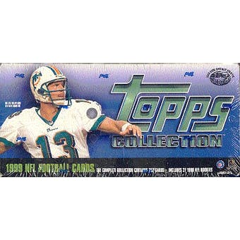 1999 Topps Football Factory Set (Box)