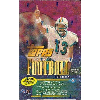 1999 Topps Football Hobby Box
