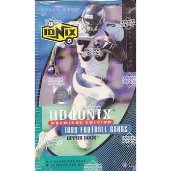 1999 Upper Deck Ionix Football Box