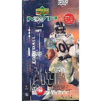 1999 Upper Deck MVP Football Hobby Box