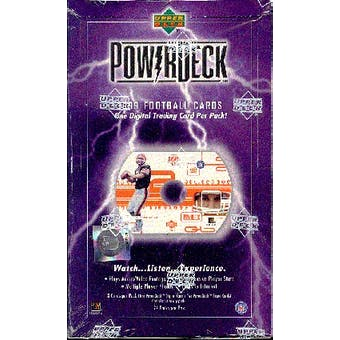 1999 Upper Deck PowerDeck Football Hobby Box