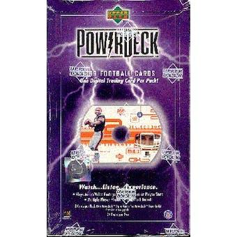 1999 Upper Deck PowerDeck Football Hobby Box