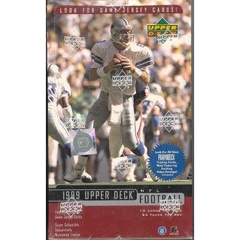1999 Upper Deck Football Hobby Box