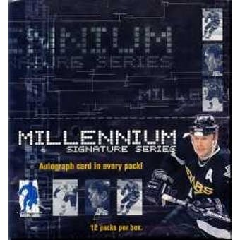 1999/00 Be A Player Signature Series Millennium Hockey Hobby Box