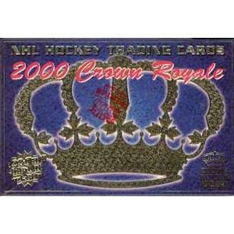 1999/00 Pacific Crown Royale Hockey Hobby Box