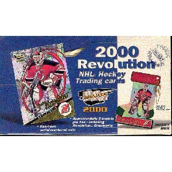1999/00 Pacific Revolution Hockey Hobby Box
