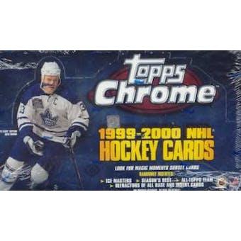 1999/00 Topps Chrome Hockey Hobby Box