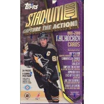 1999/00 Topps Stadium Club Hockey Hobby Box