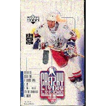 1999/00 Upper Deck Gretzky Living Legends Hockey Hobby Box
