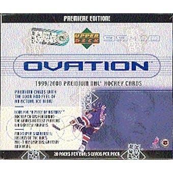 1999/00 Upper Deck Ovation Hockey Hobby Box