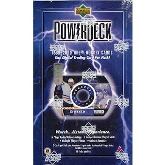1999/00 Upper Deck Power Deck Hockey Hobby Box
