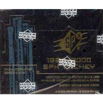 1999/00 Upper Deck SPx Hockey Hobby Box