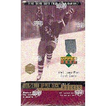 1999/00 Upper Deck Series 2 Hockey Hobby Box
