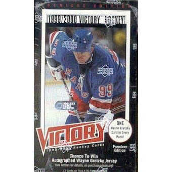 1999/00 Upper Deck Victory Hockey Box