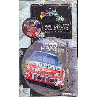 1999 Upper Deck Maxx Racing Hobby Box